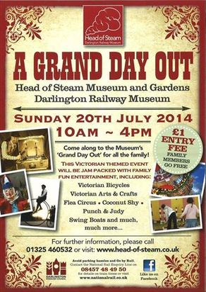 A Grand Day Out for all the Family Event at the Head of Steam, Darlington
