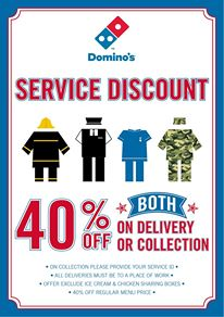 Military coupon code for dominos