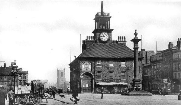 old pictures/photos of stockton on tees